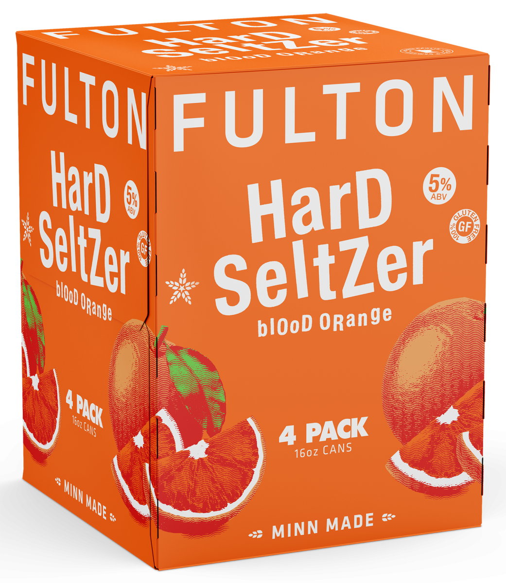 Blood Orange Hard Seltzer