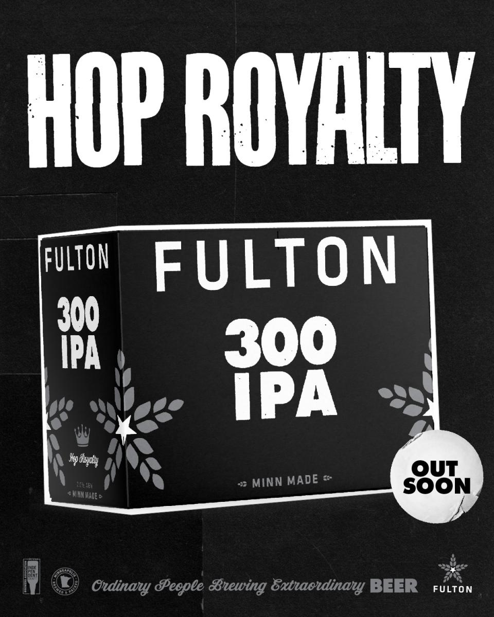 Fulton 300 Mosaic IPA now in 12packs of 12 ounce cans!