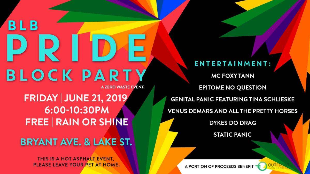 Bryant Lake Bowl Pride Block Party