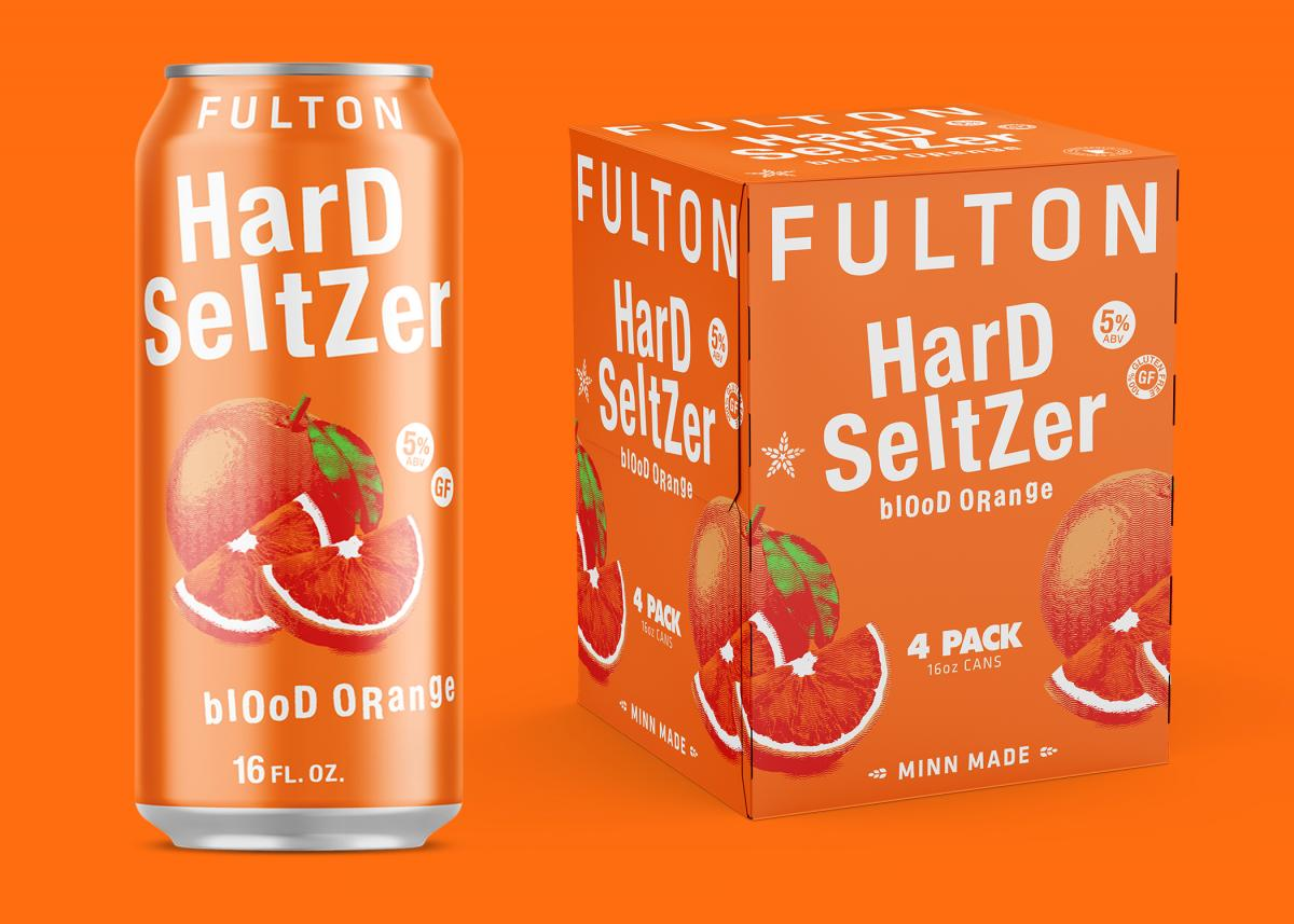 Fulton Blood Orange Hard Seltzer