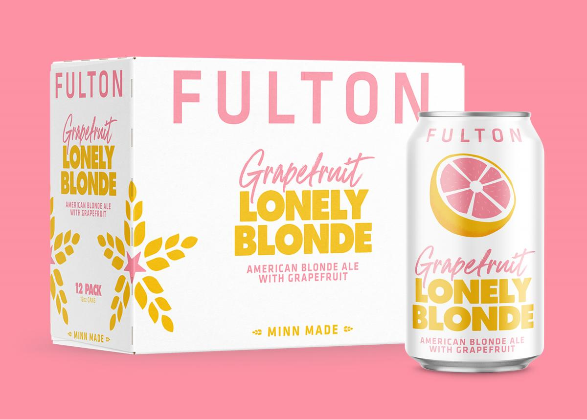 Fulton Grapefruit Lonely Blonde 12 packs