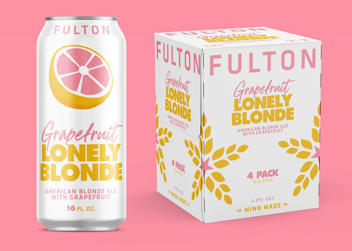 Fulton Brewing Grapefruit Lonely Blonde Ale