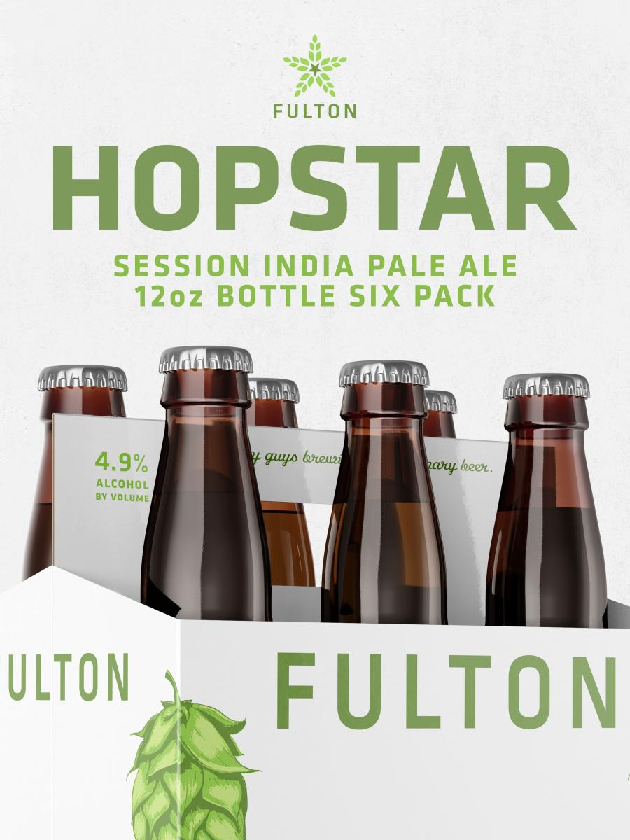 Hopstar Session IPA 6pack bottles