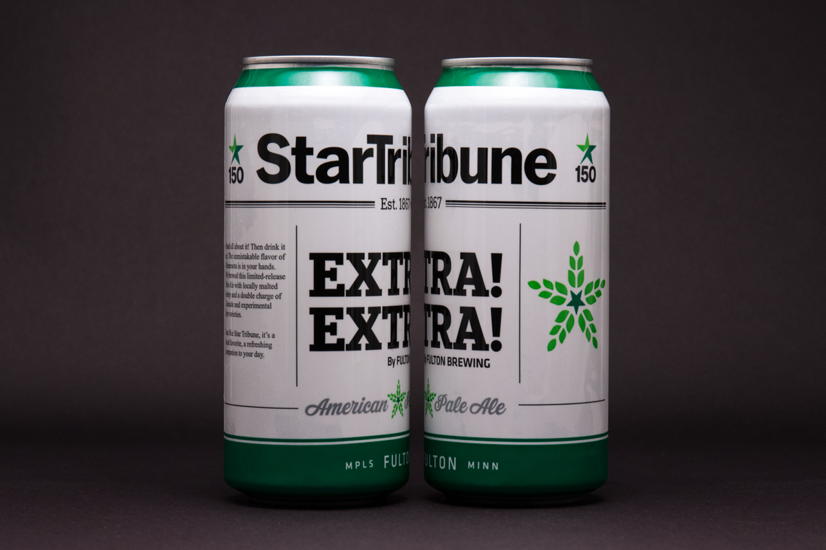 Fulton X Star Tribune 150th Anniversary Beer