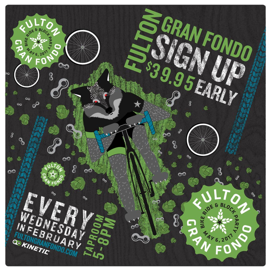 The Fulton Gran Fondo, May 6th 2017