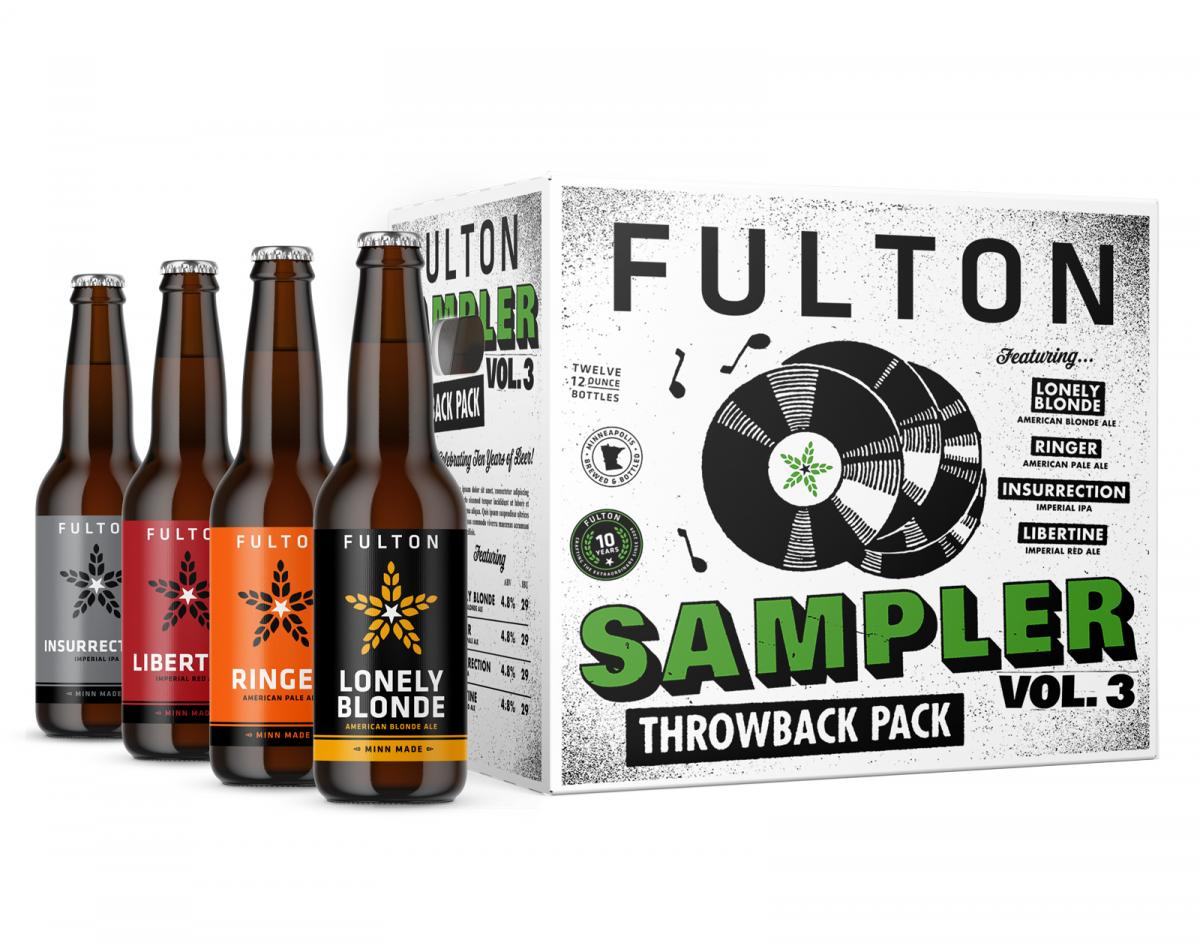 "Fulton Mixed 12 ""Throwback"" Pack"