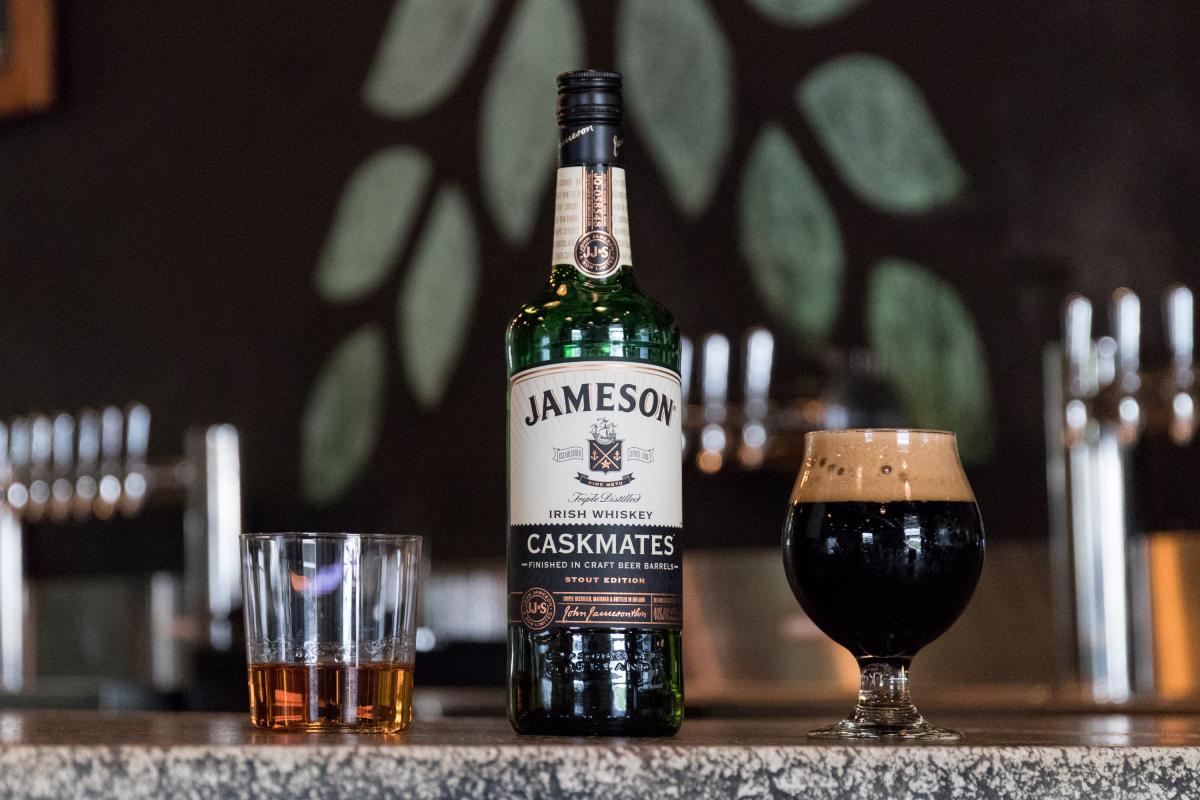 Jameson Irish Whiskey Drinking Buddies