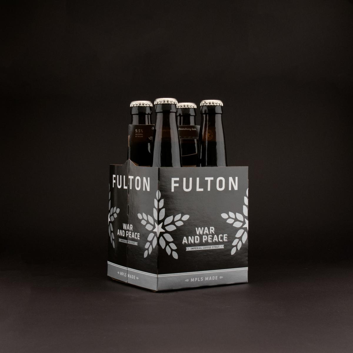 Fulton's Imperial Coffee Stout: War & Peace