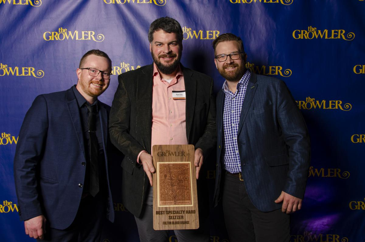 Growler Magazine KOABD gold winner: Blood Orange Hard Seltzer