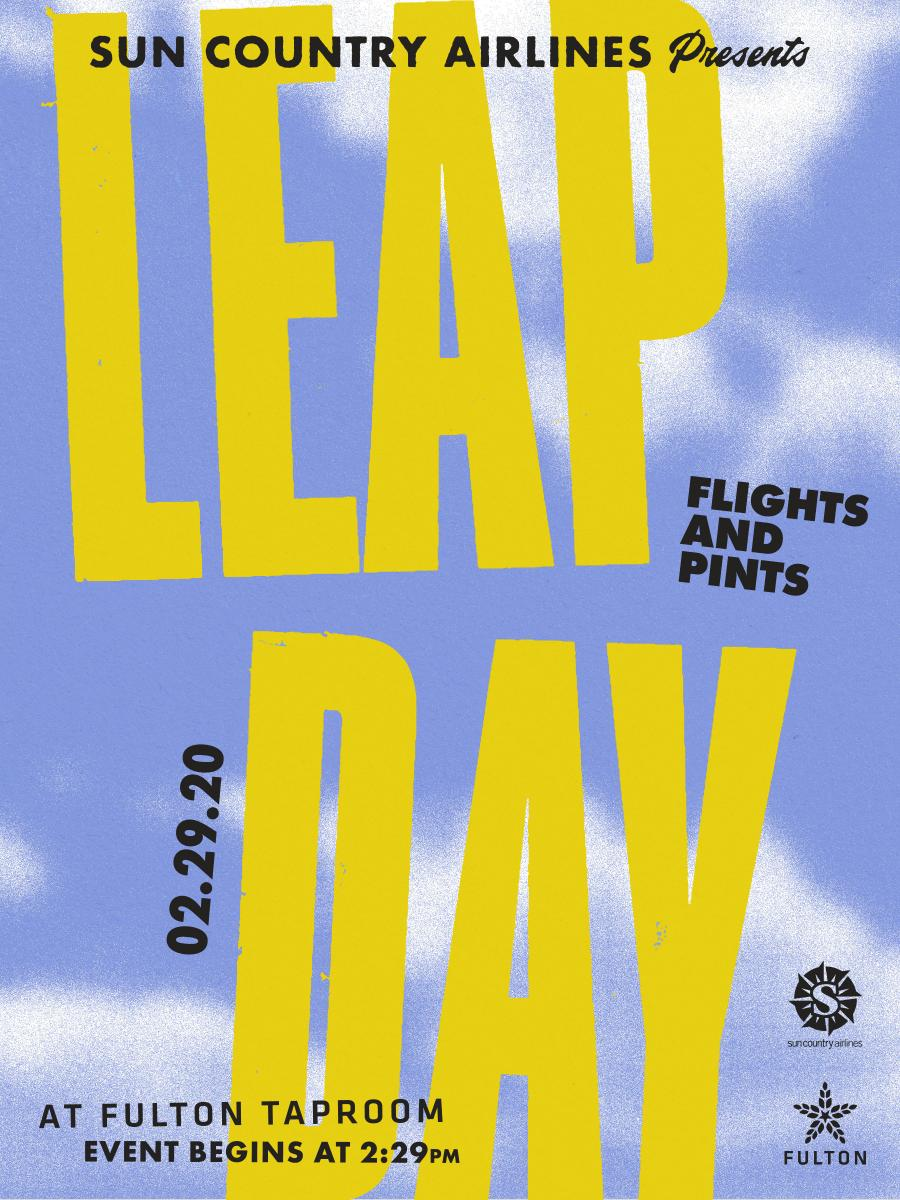 Fulton & Sun Country Airlines Leap Year party