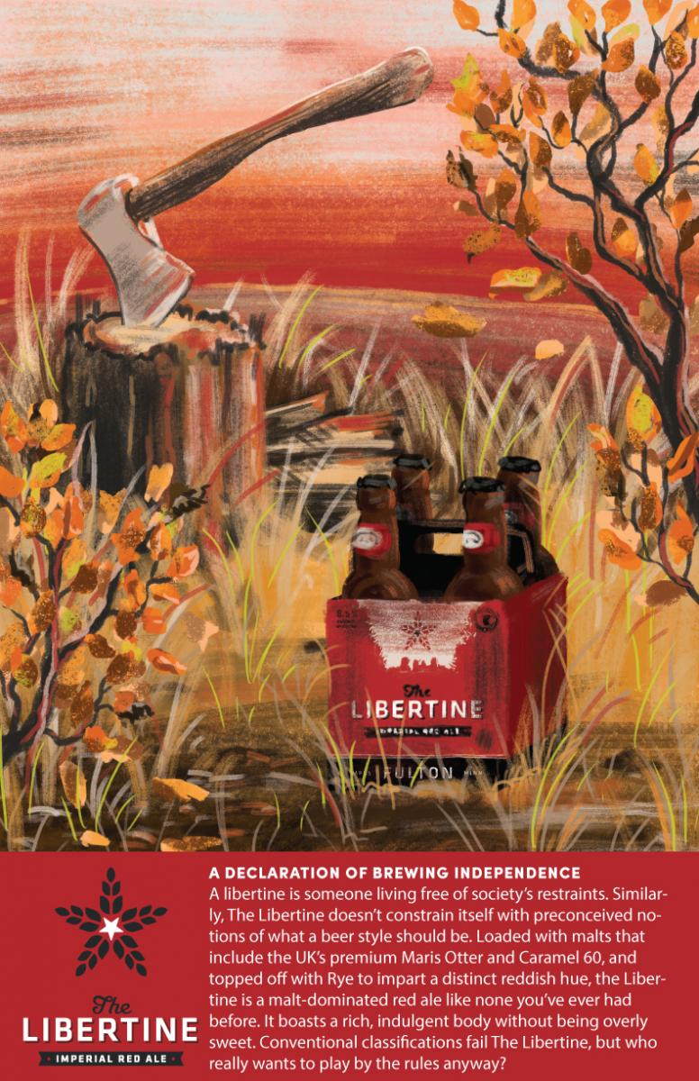 Fulton's Libertine Imperial Red Ale