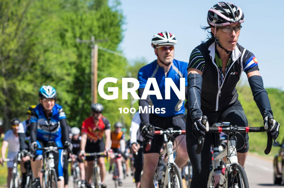 The Fulton Gran Fondo-Fondo length