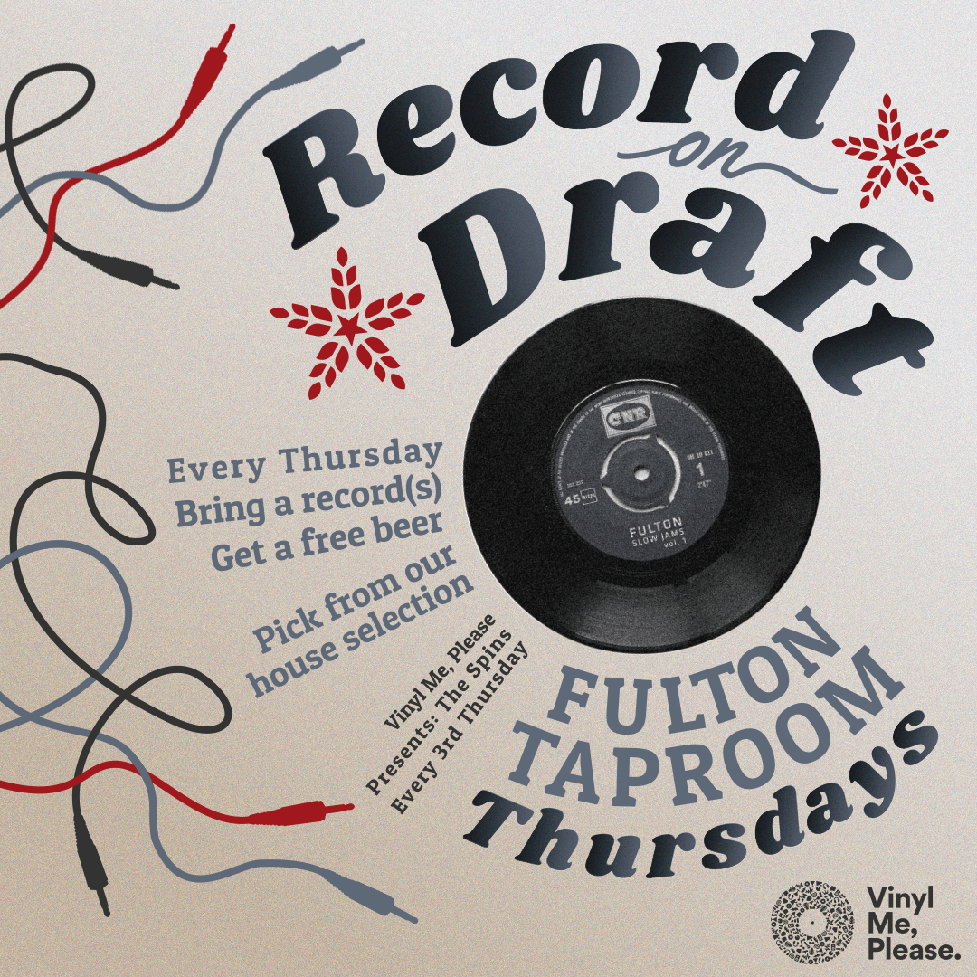 Fulton Taproom's Weekly Vinyl Night
