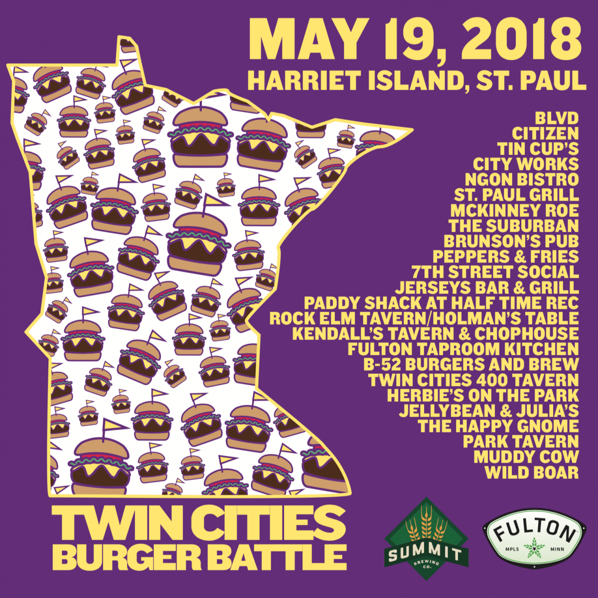 Twin Cities Burger Battle 5/19