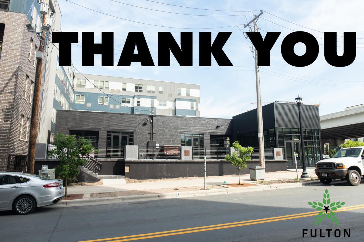 Thank you for supporting the Fulton Taproom