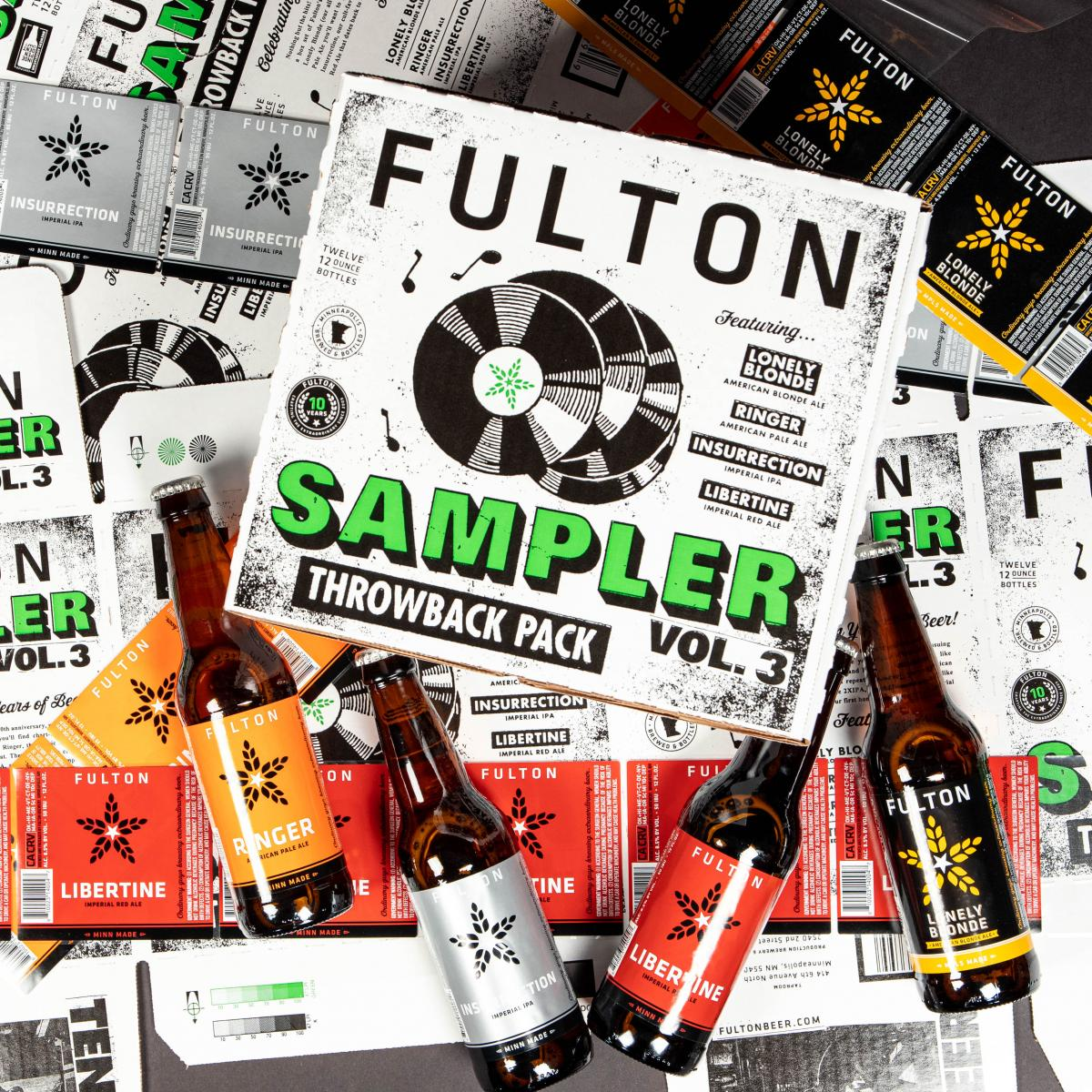 Fulton 10th Anniversary Throwback Pack