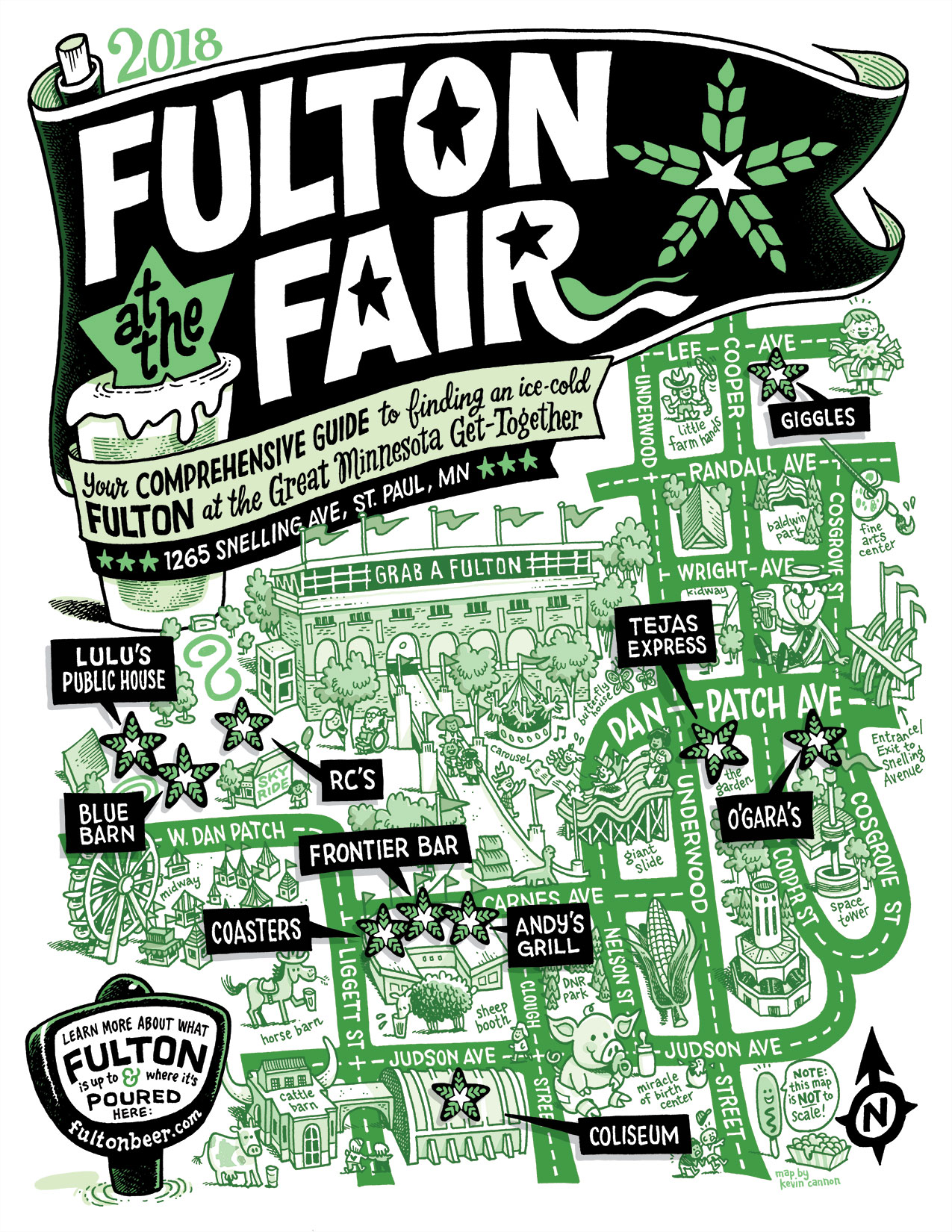Fulton Beer at the MN State Fair 2018