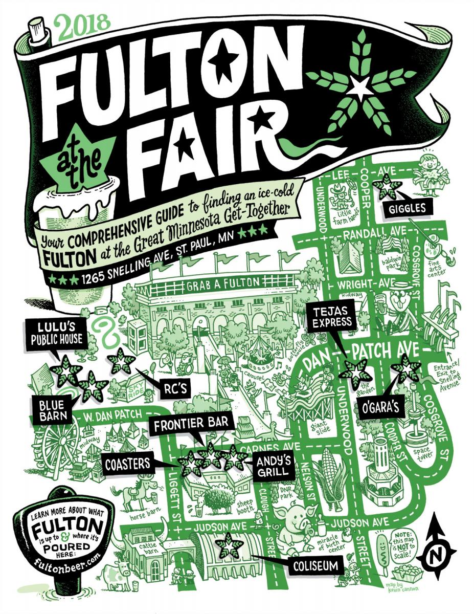 MN State Fair Fulton Map