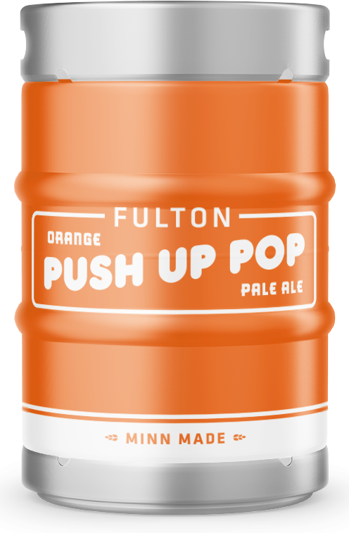 Orange Push-Up Pale Ale