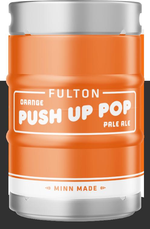 Orange Push-Up Pale Ale